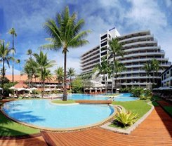 Patong Beach Hotel is located at 124 Taweewong Road