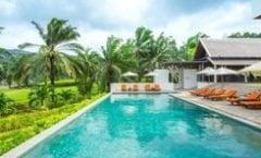 Tinidee Golf Resort at Phuket is located at 42 Moo 5 Vichitsongkram Rd